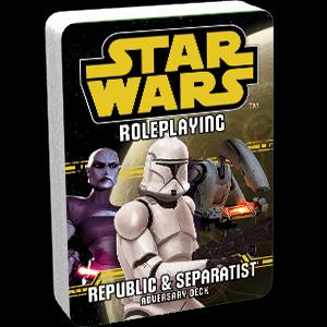 Star Wars RPG: Republic & Separatist (Adversary Deck)