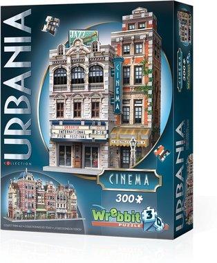 Urbania: Cinema - Wrebbit 3D Puzzle (300)
