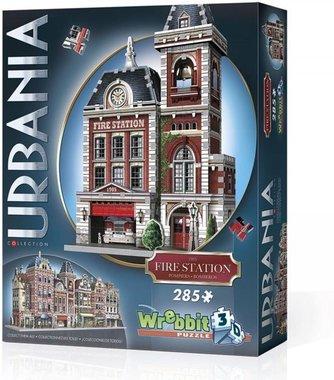 Urbania: Fire Station - Wrebbit 3D Puzzle (285)