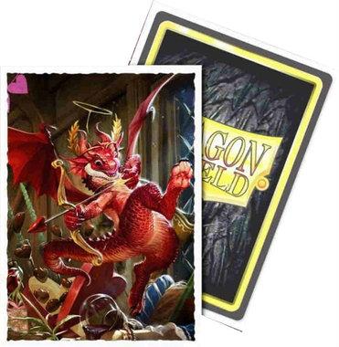 Dragon Shield Standard Art Sleeves: Valentine Dragon 2020 (63x88mm) - 100 stuks