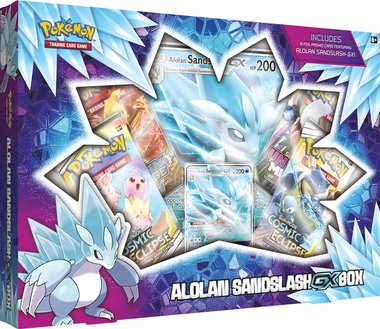 Pokémon: Alolan Sandslash GX Box