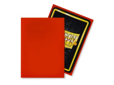Dragon Shield Card Sleeves: Standard Tangerine (63x88mm) - 100 stuks