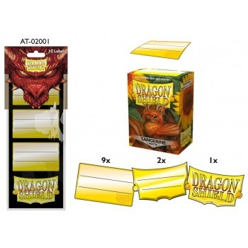 Dragon Shield Label Pack #1