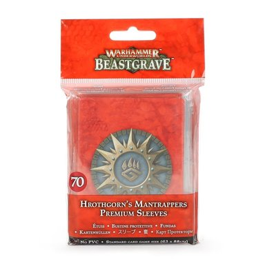 Warhammer Underworlds: Beastgrave - Hrothgorn's Mantrappers (Premium Sleeves)
