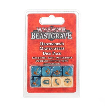 Warhammer Underworlds: Beastgrave - Hrothgorn's Mantrappers (Dice Pack)