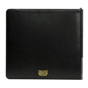 Dragon Shield Card Codex – Zipster Binder XL (Black)