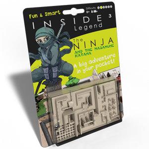 Inside³ Legend - The Ninja and the Masamune Katana