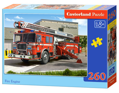 Fire Engine - Puzzel (260)