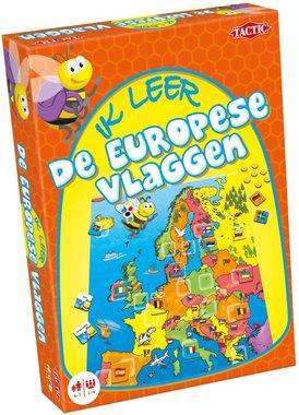 Ik leer de Europese Vlaggen