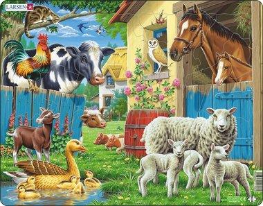 Puzzel LARSEN: Boerderijdieren (23)