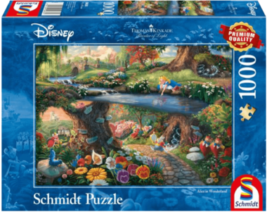Alice in Wonderland - Puzzel (1000)