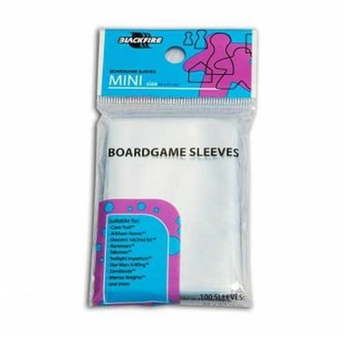 Blackfire Sleeves: Mini (44x67mm) - 100 stuks