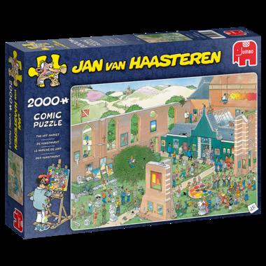 De Kunstmarkt - Jan van Haasteren Puzzel (2000)