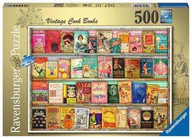 Vintage Kookboeken - Puzzel (500)