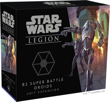 Star Wars Legion: B2 Super Battle Droids Unit Expansion