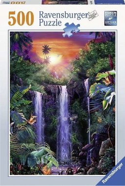 Schitterende Watervallen - Puzzel (500)