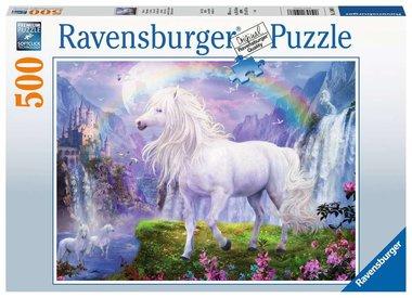 De Vallei van de Regenboog - Puzzel (500)