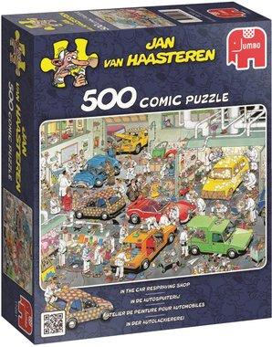 In de Autospuiterij - Jan van Haasteren Puzzel (500)