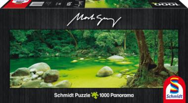 Mossman Gorge, Queensland, Australia - Panorama Puzzel (1000)