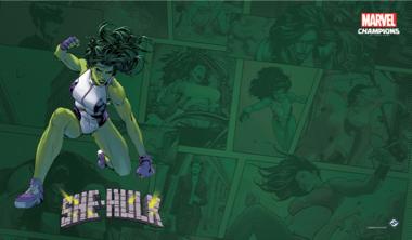 Marvel: Champions - She-Hulk Game Mat