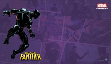 Marvel: Champions - Black Panther Game Mat