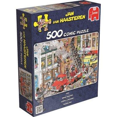 Brand Meester! - Jan van Haasteren Puzzel (500)
