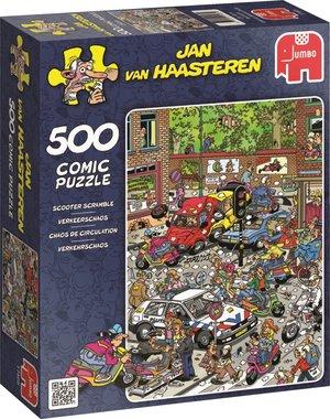 Verkeerschaos - Jan van Haasteren Puzzel (500)