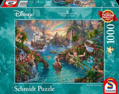 Peter Pan's Never Land - Puzzel (1000)