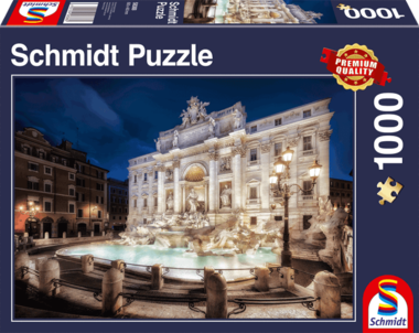 Trevifontein, Rome - Puzzel (1000)
