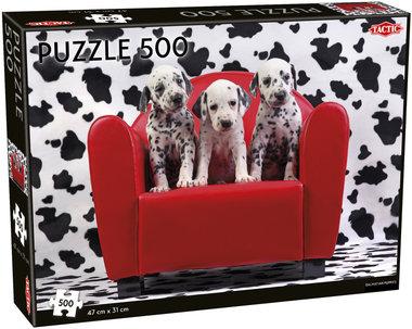 Dalmatian Puppies - Puzzel (500)