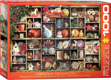Christmas Ornaments - Puzzel (1000)