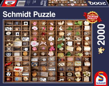 Kleine schat in de zetkast - Puzzel (2000)