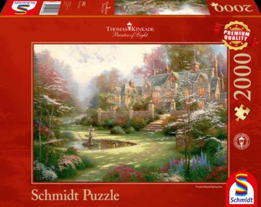 Engels Landgoed (Thomas Kinkade) - Puzzel (2000)