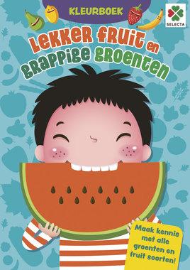 Lekkere Fruit en Grappige Groenten Kleurboek