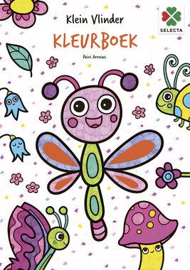 Klein Vlinder Kleurboek