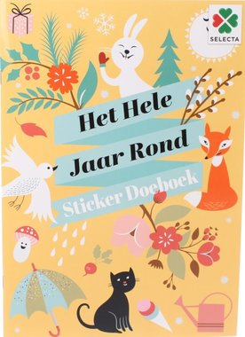 Het Hele Jaar Rond Sticker Doeboek