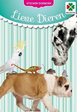 Lieve Dieren Sticker Doeboek