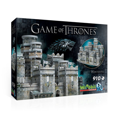 Game of Thrones: Winterfell - Wrebbit 3D Puzzle (910)