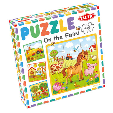 My First Puzzle: On the Farm (4x6)