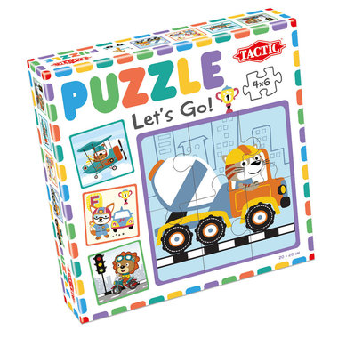 My First Puzzle: Let's Go! (4x6)