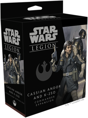 Star Wars Legion: Cassian Andor and K-2S0 Commander Expansion