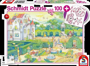 Bij de sprookjesprinsessen - Puzzel (100)