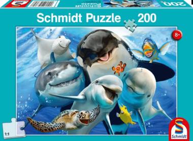 Onderwatervriendjes - Puzzel (200)