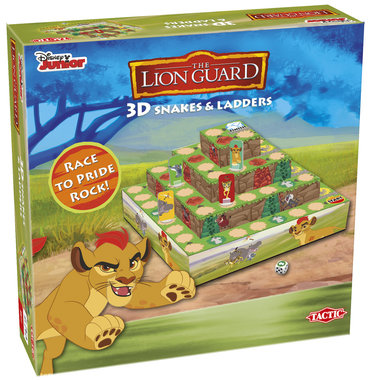 3D Snakes & Ladders (Lion Guard)
