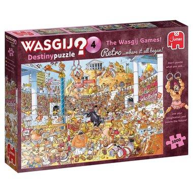 Wasgij Destiny Puzzel Retro (#4): De Wasgij Spelen! (1000)