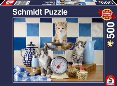 Katten in de Keuken - Puzzel (500)