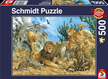 Grote Katten - Puzzel (500)