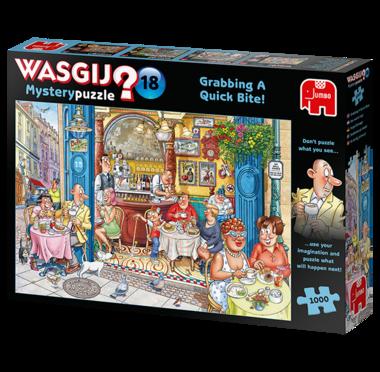 Wasgij Mystery Puzzel (#18): Een Snelle Hap! (1000)