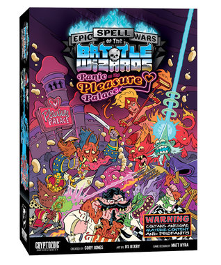 Epic Spell Wars of the Battle Wizards: Panic at the Pleasure Palace