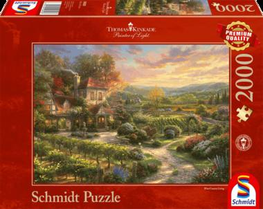 In de wijnbergen (Thomas Kinkade) - Puzzel (2000)